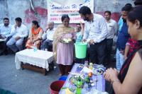 Demostration regarding Segregation of waste at source.