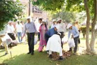 "JMC organizes Sanitation Drives at Heritage sites and Nukkad Natak  under ""Swachhata Hi Seva Campaign"" in association with JKTDC and Raghunath Market Association."